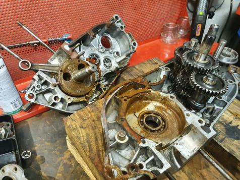 Bultaco 125 #atelierperrot #stage moteur