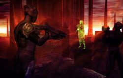 Sentinel war hologram