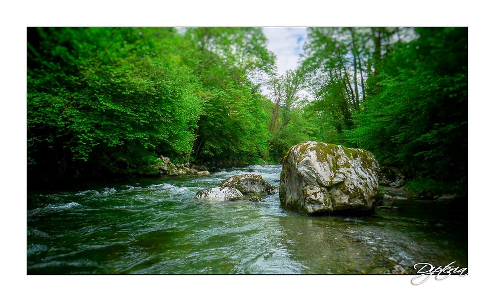 Une jolie rivière des Pyrénées