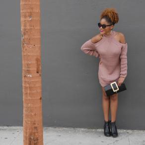 It's Sweater Dress Weather!! Well Kinda…