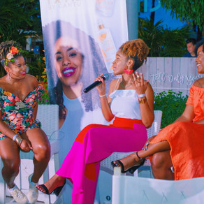 Speaking Engagement with Cantu Beauty