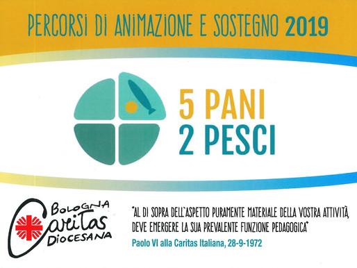 """""""5pani e 2pesci"""" FORMAZIONE Settembre-Ottobre 2019"""