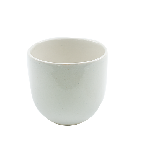 WHITE TUMBLER CUP