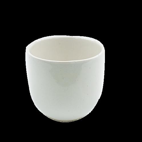 WHITE TUMBLER CUP