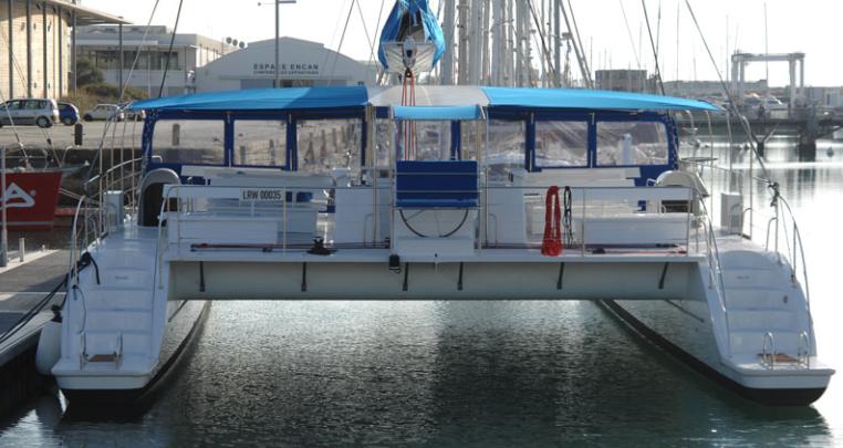 Catamaran for 120 passengers / Catamaran para 120 pasajeros