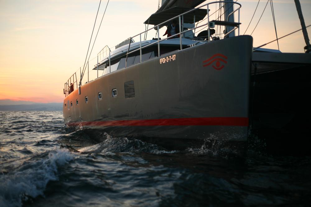 Sunreef 62 sailing / Sunreef 62 navegando