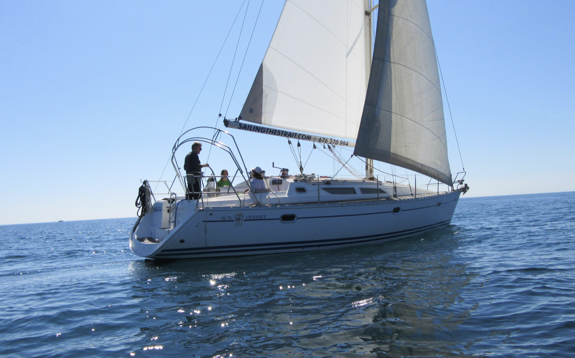 Sun Odyssey 37.1 sailing / Sun Odyssey 37.1 a vela