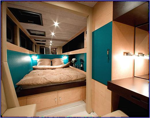 Cabin with dressing room / Camarote con vestidor