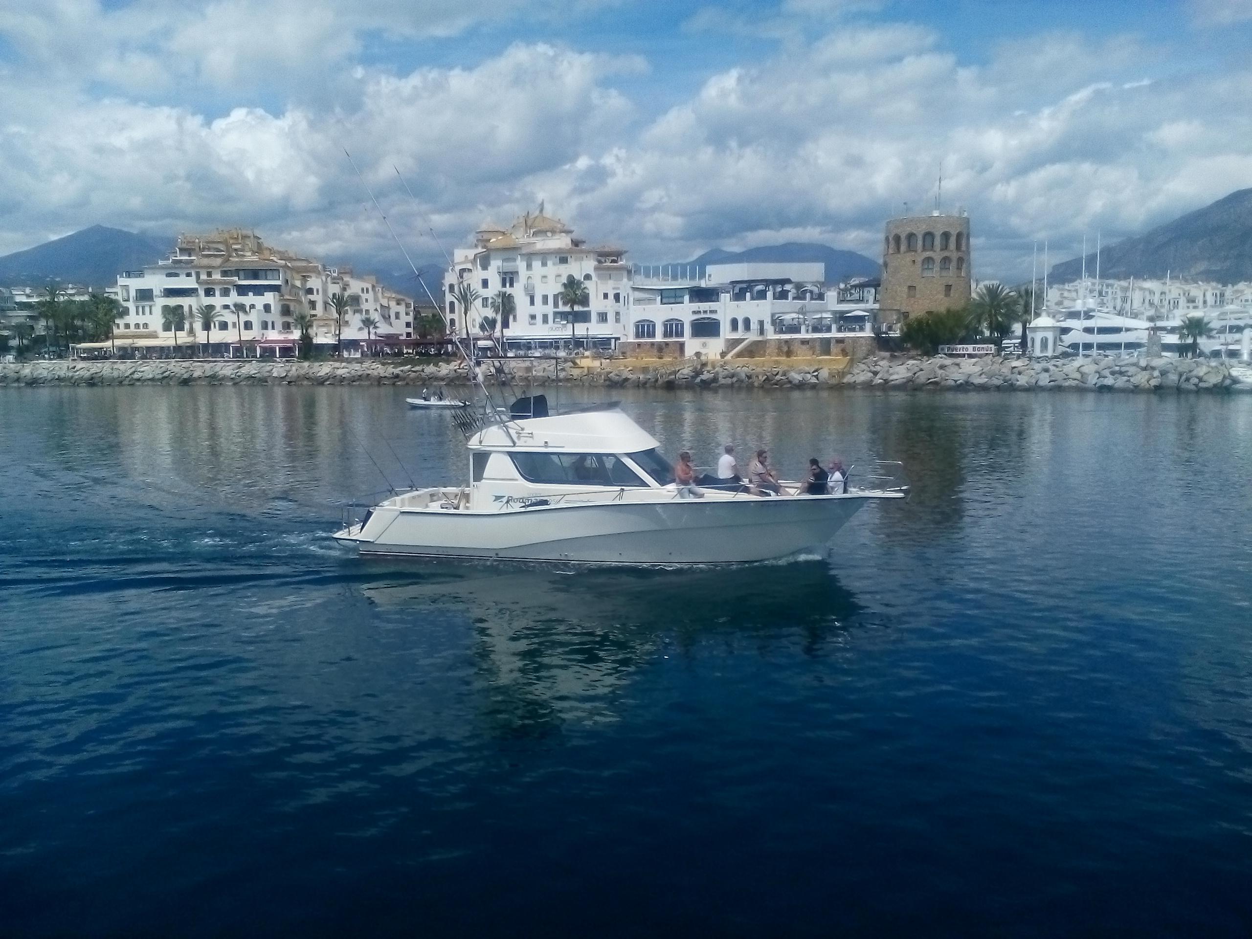 Leaving Puerto Banus / Saliendo de Puerto Banus