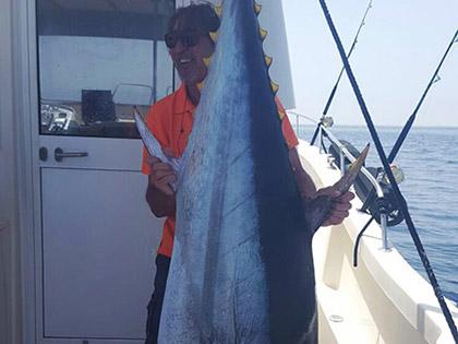 Tuna catch / Captura de un atun