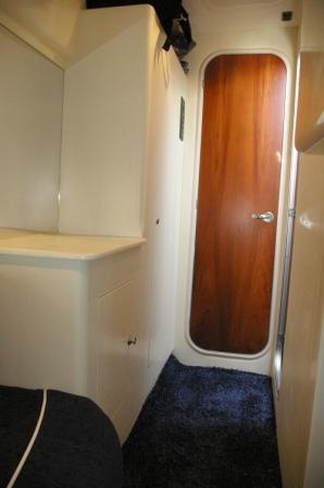 Cabin dressing room / Vestidor del camarote