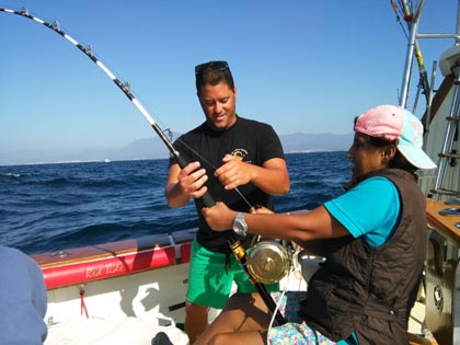 The battle of fishing / La batalla de la pesca