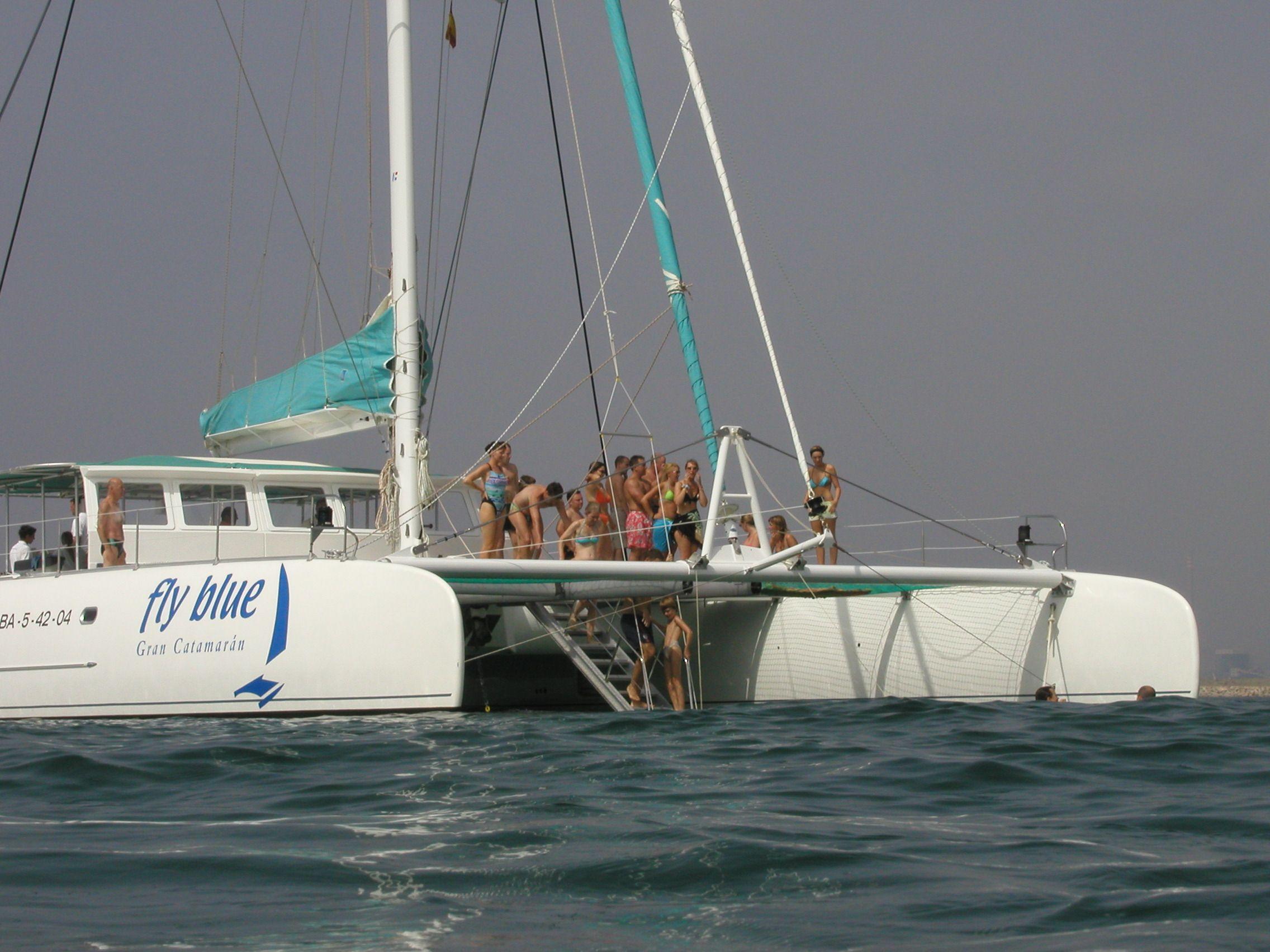 Catamaran Tahiti 80