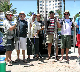 Starfisher 10.30 after fishing / Starfisher 10,30 tras la pesca