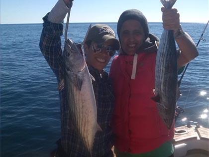 Two good catches / Dos buenas capturas
