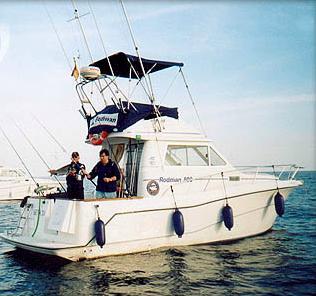 Starfisher 10.30 anchored / Starfisher 10,30 fondeado