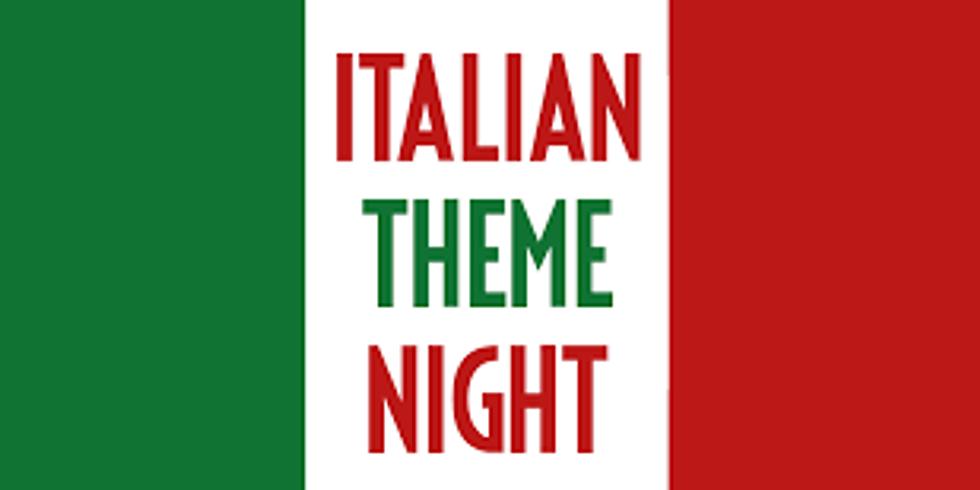 Italian Night at Yacht Club Sea Isle City, NJ