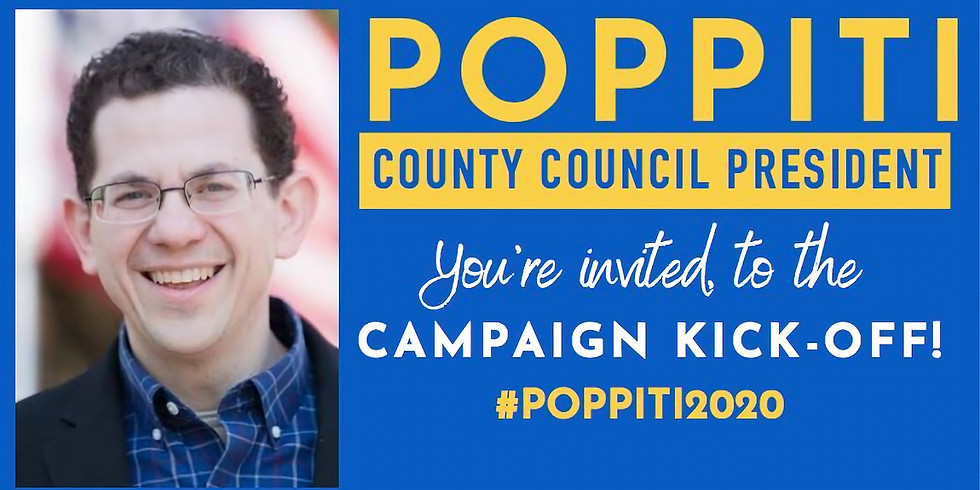 Ciro Poppiti for the office of New Castle County President