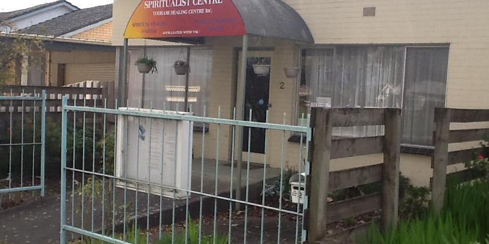 Latrobe Valley Spiritualist Centre Service.