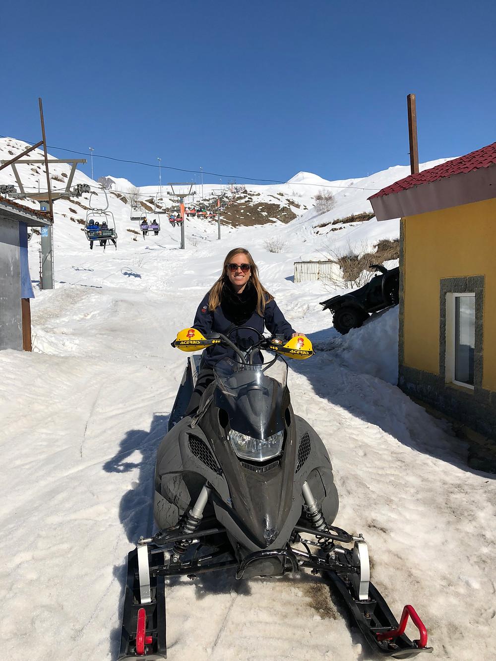 אופנועי שלג!