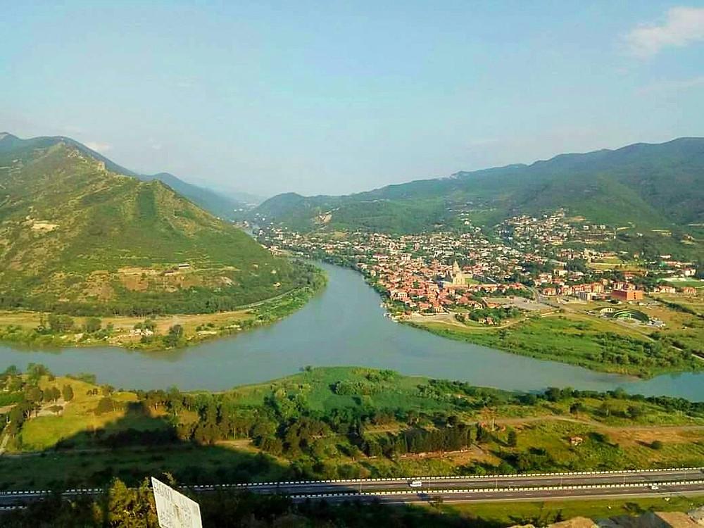 מפגש הנהרות ארגוי וקורה