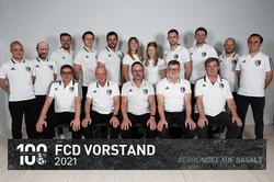 Der Vorstand des FC Dorndorf im Jahr 2021