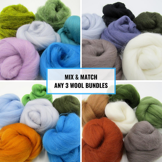 Mix and Match Any 3 Wool Bundles