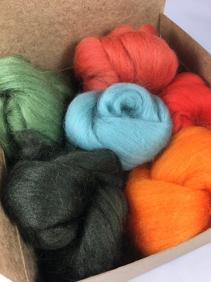 Autumn Forest Wool Bundle