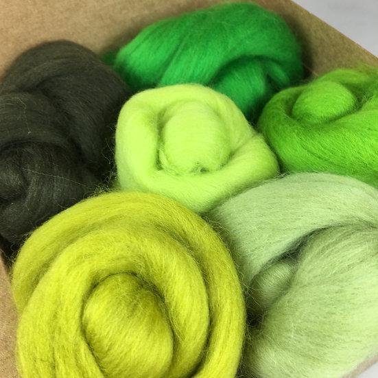 Green Wool Bundle