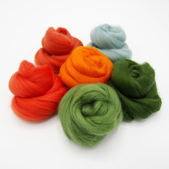 Autumn Forest Wool Bundle