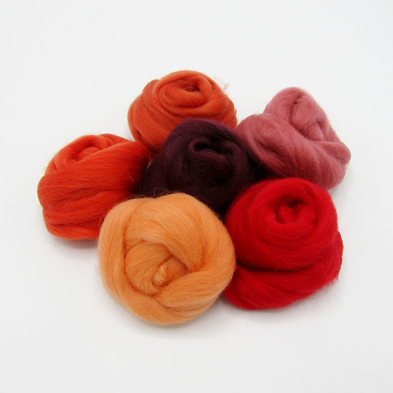 Red Wool Bundle