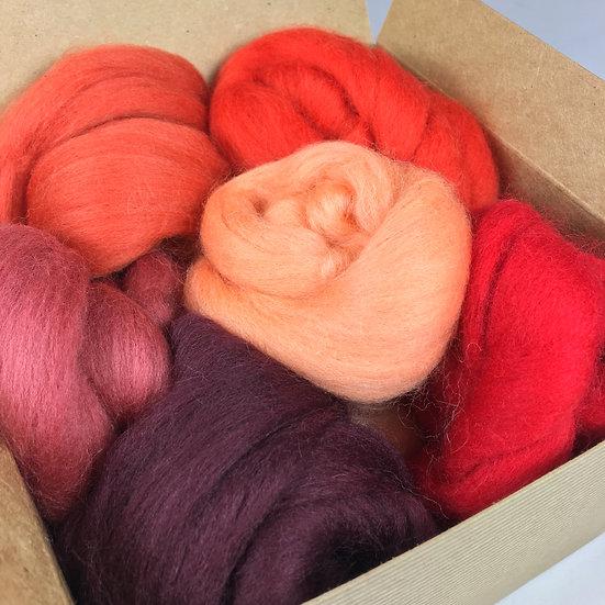 Red Wool Bundle