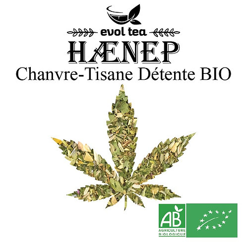 Chanvre-Tisane Détente BIO 50g