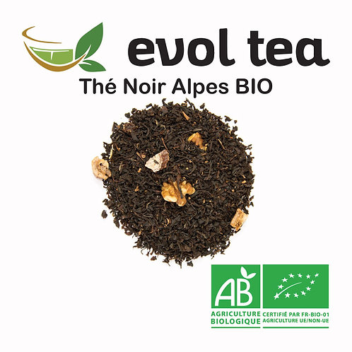 Thé Noir Alpes BIO 100g