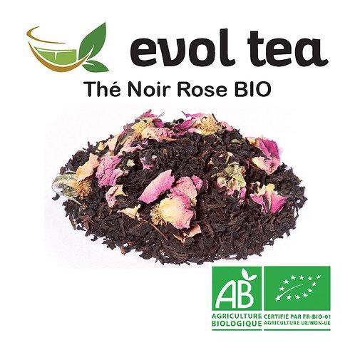 Thé Noir Rose BIO 100g