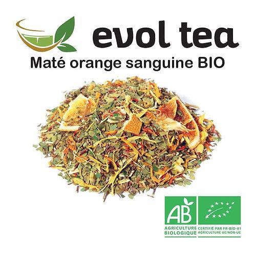 Maté Orange-sanguine BIO 100g