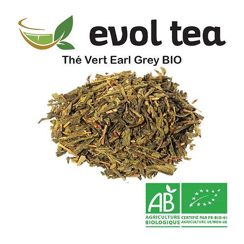 Thé Vert Earl Grey BIO 100g