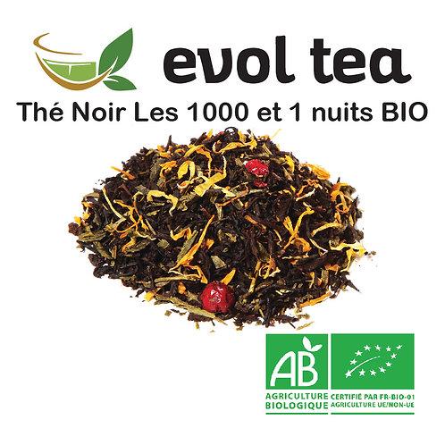 Thé Noir Les 1001 nuits BIO 100g