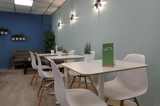 Salon de thé à Chambéry