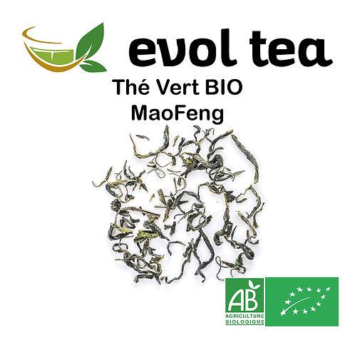 Thé Vert de Chine MaoFeng BIO 100g