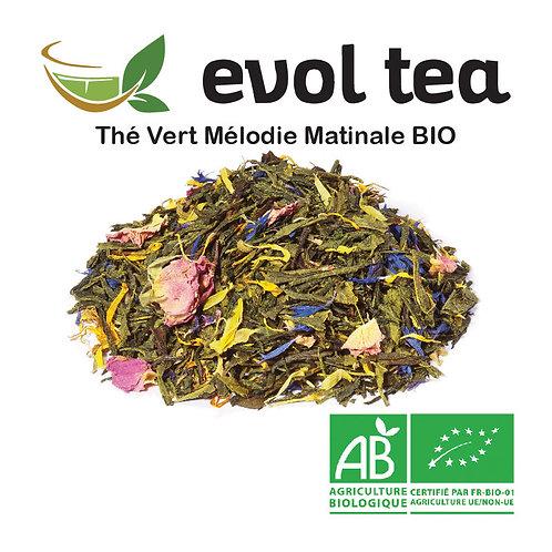Thé Vert Mélodie Matinale BIO 100g