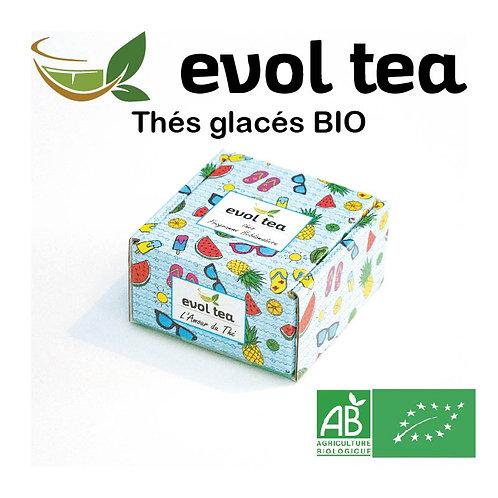 Assortiment des thés glacés