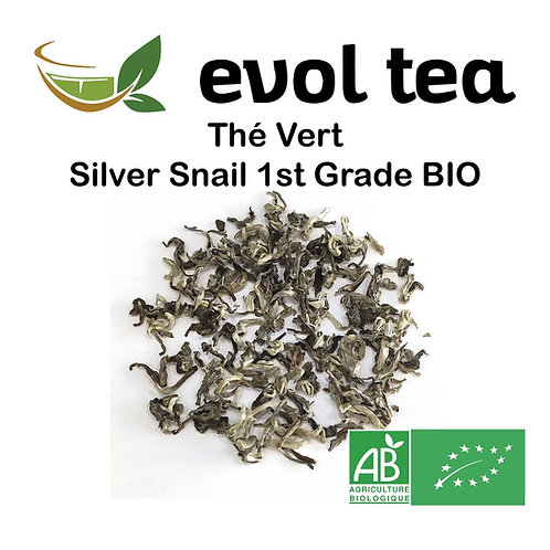 Chine Thé Vert Silver Snail 1st Grade BIO 50g