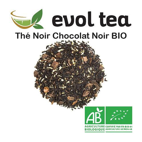 Thé Noir Chocolat Noir BIO 100g