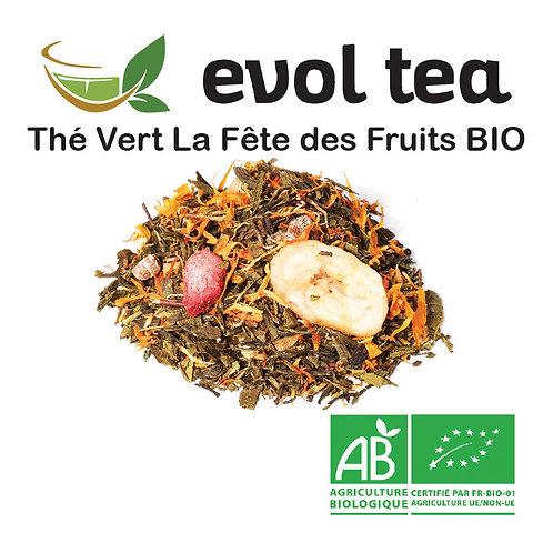 Thé Vert La Fête des Fruits BIO 100g