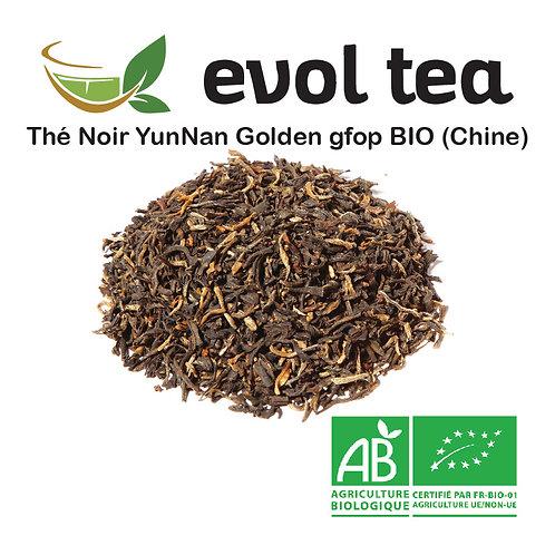 Yun Nan Golden Noir gfop BIO 100g