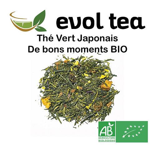 Thé Vert Japonais De Bons Moments BIO 100g