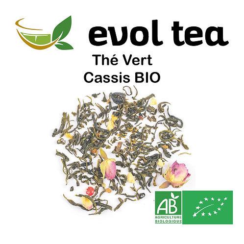 Thé Vert Cassis BIO 100g