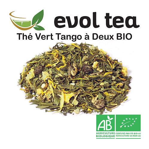 Thé Vert Tango à Deux BIO 100g