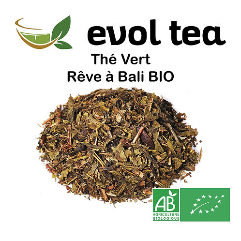 Thé Vert Rêve à Bali BIO 100g